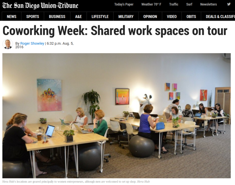Coworking Space San Diego Women